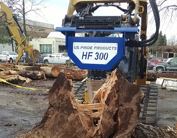 HF 300 Mini Log Splitter